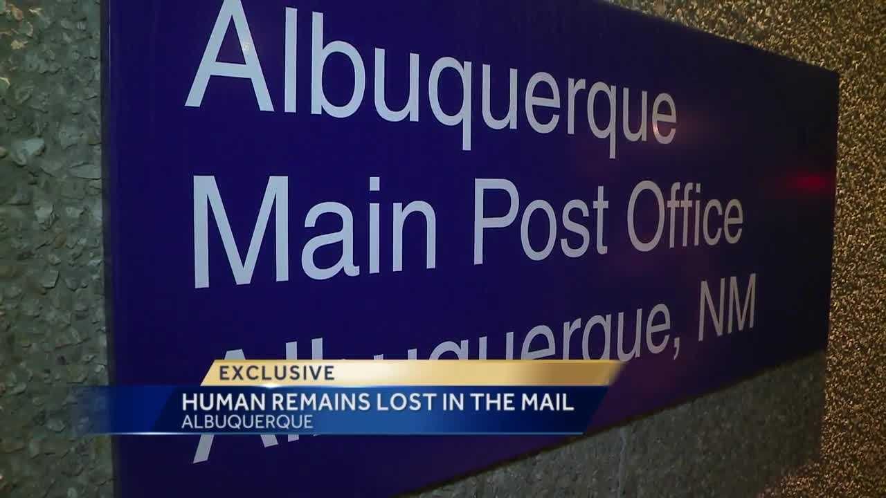 A family is desperately trying to get their father's remains. He died in Albuquerque, then part of the ashes got lost in the mail on the way to Texas.