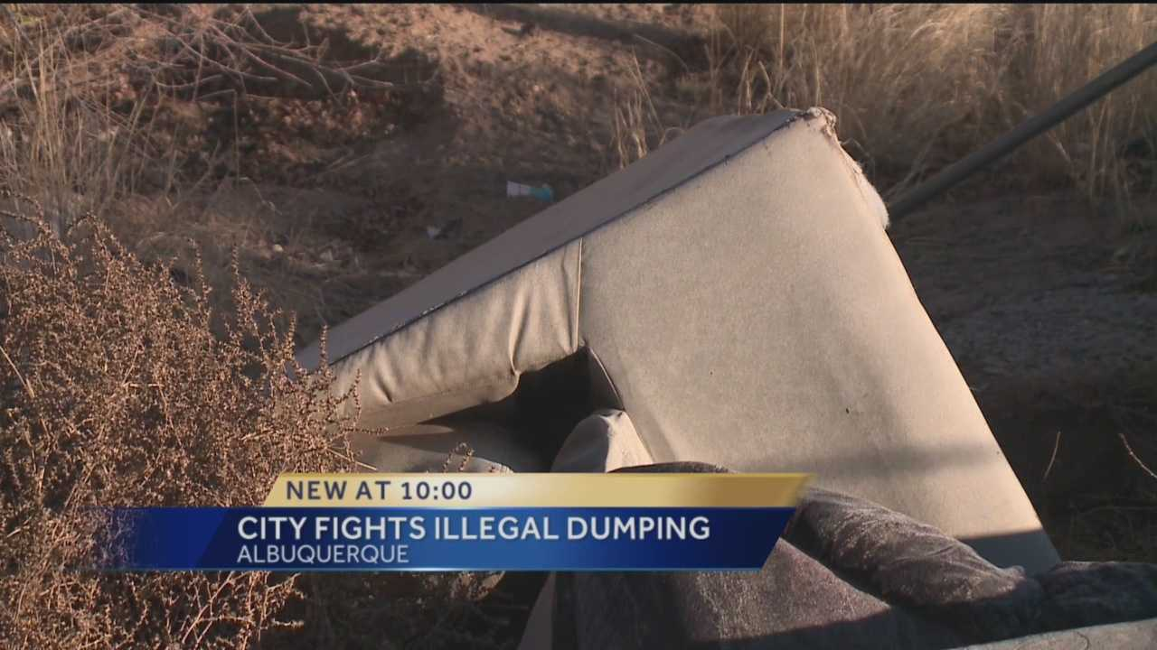 The city of Albuquerque wants residents with big items to toss in the trash to take them to a waste transfer station.