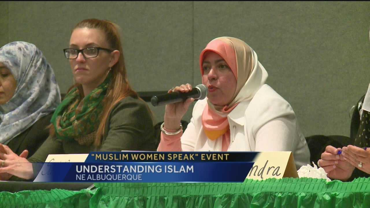 Muslim women engage the Albuquerque community over their religion.