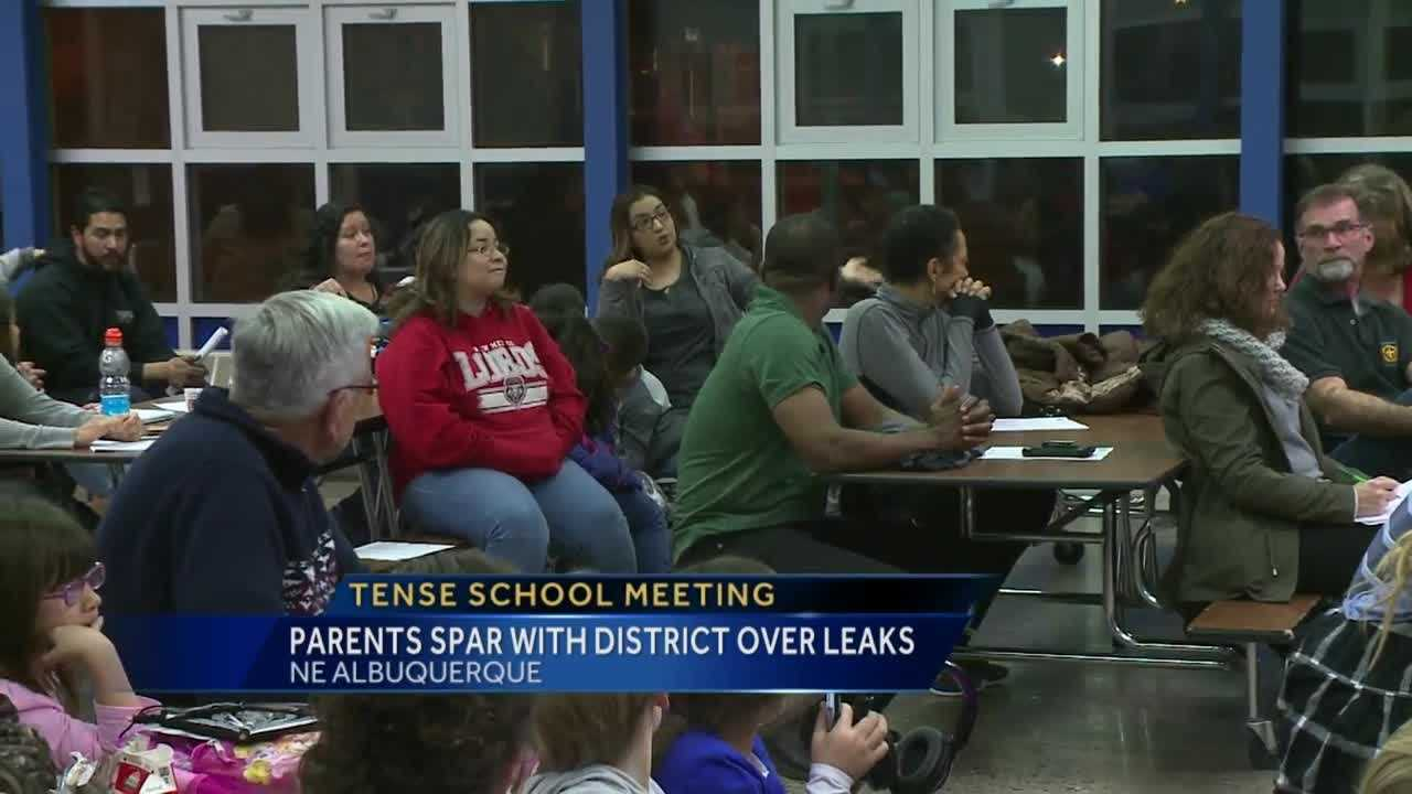 Tuesday upset parents went head to head with school officials.