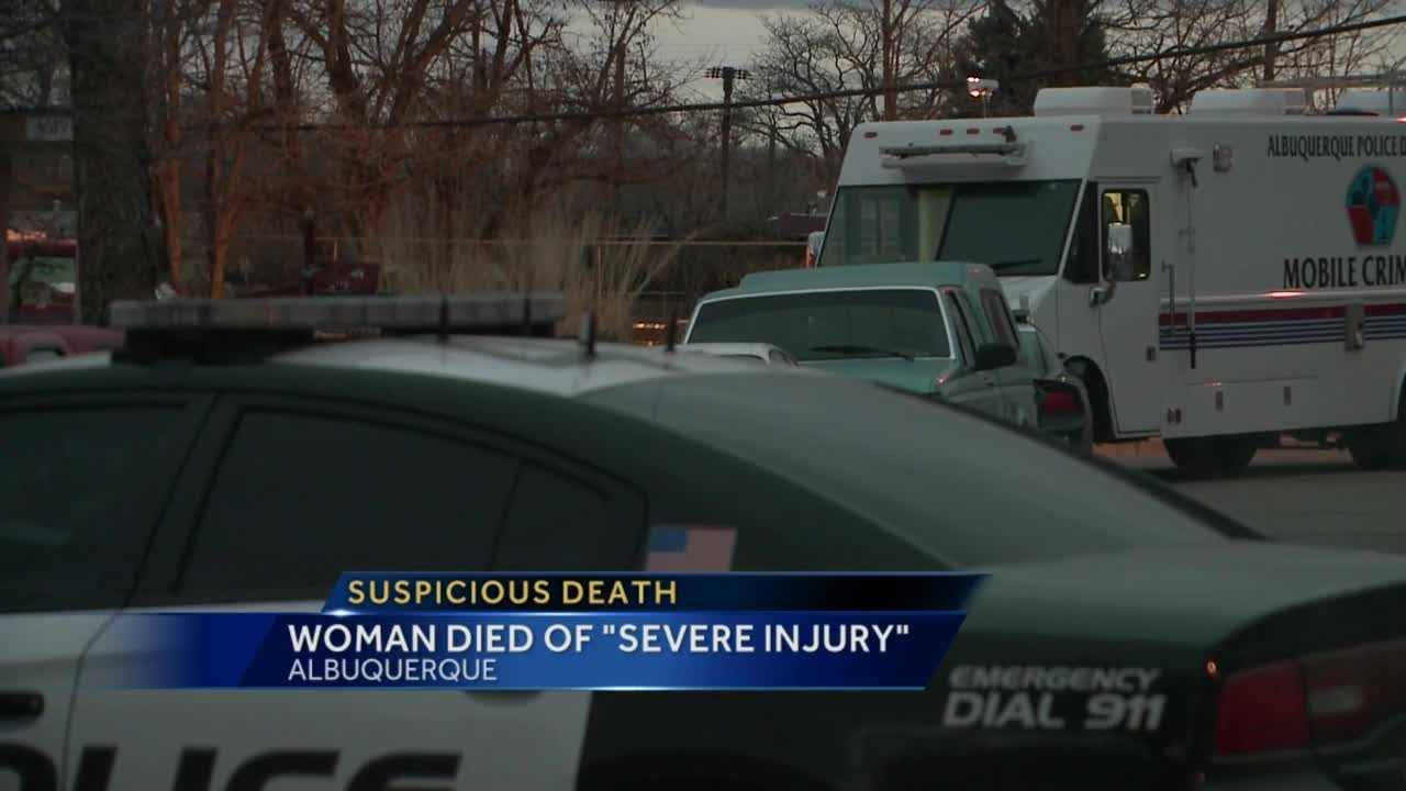 Police are trying to figure out how a woman died overnight in northwest Albuquerque.