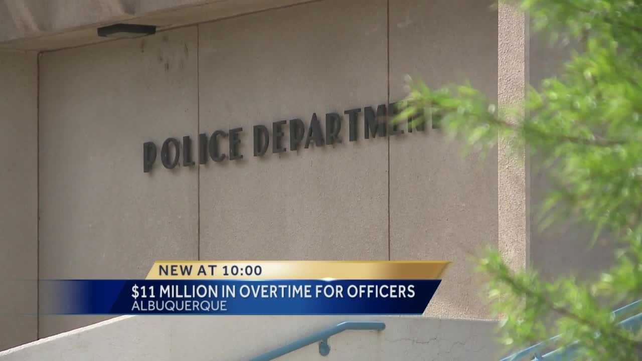 The city of Albuquerque pays out a lot of overtime and more than half of it goes to the police department.