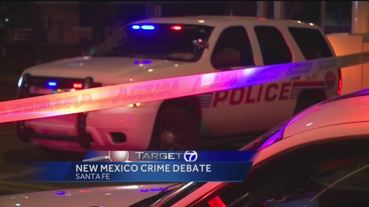 Violent crime has increased in several New Mexico cities from 2013 to 2014.
