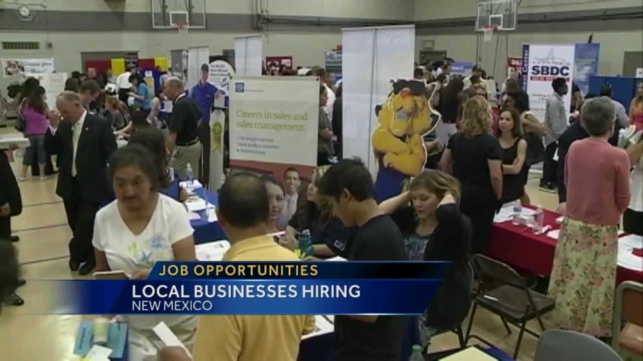 Several job fairs are coming up around New Mexico.