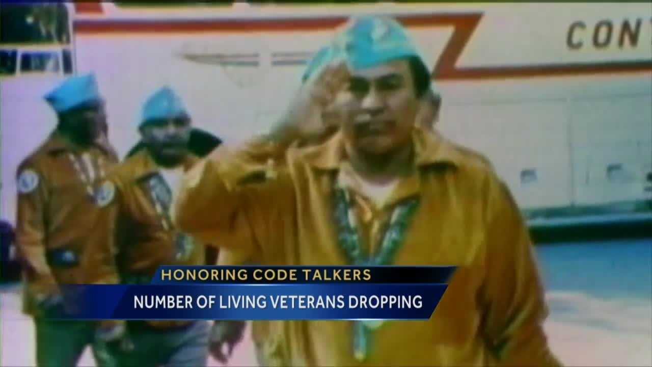 Navajo Code Talkers played a vital role in winning World War II, but not many of them are left.