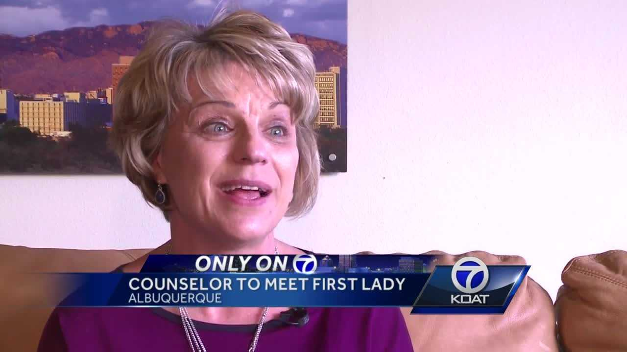 This week, an Albuquerque Public Schools counselor will sit down with First Lady Michelle Obama to discuss education.