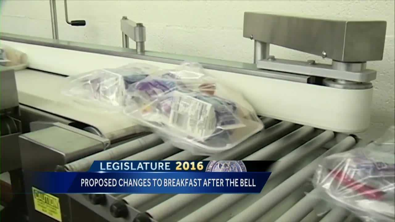 School breakfast bill could affect federal funding