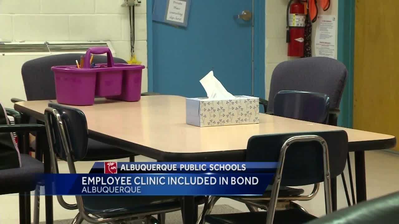 Employee Clinic Included in Bond