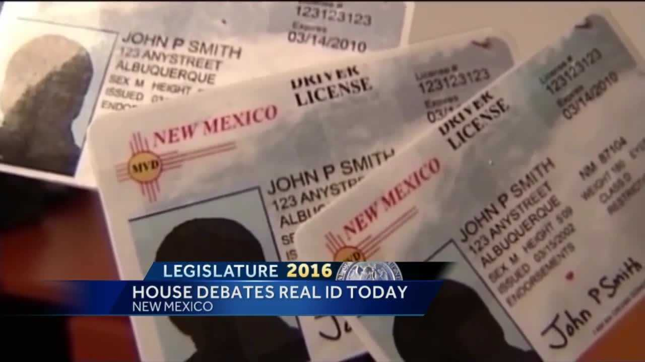 House Debating Real ID Today