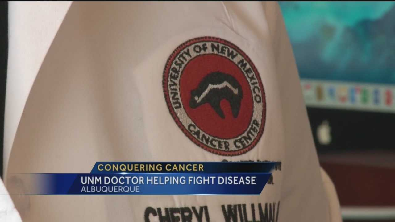 UNM Cancer Center head preps for Washington trip