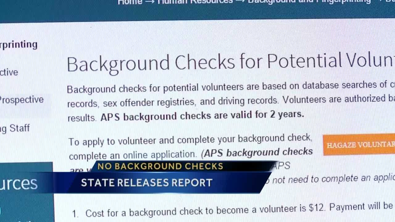 A new report shows there are 80 school employees across the state who never got a background check.