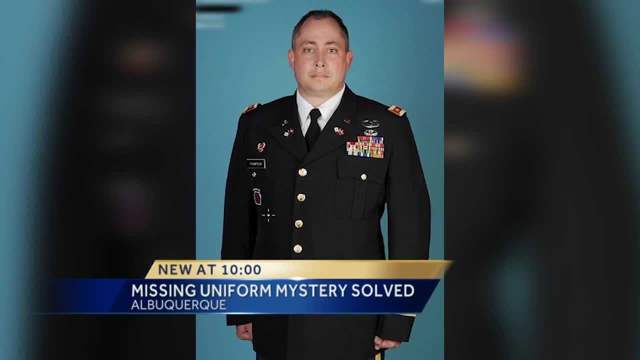 The mystery surrounding a decorated army uniform is solved.