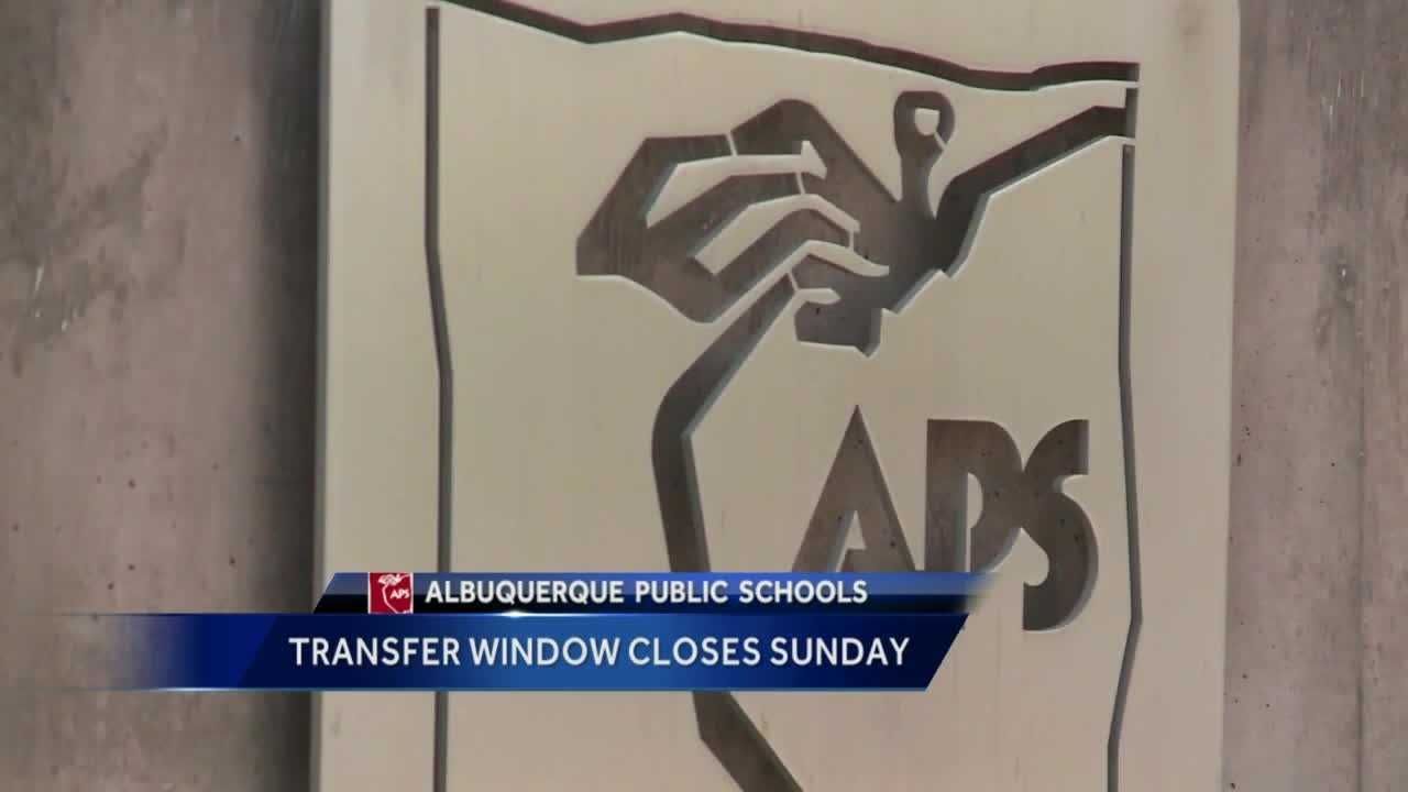APS Transfer Window Closing Sunday