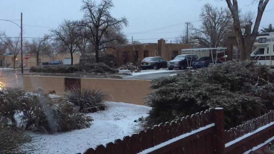 Snow Near Carlisle And Menaul