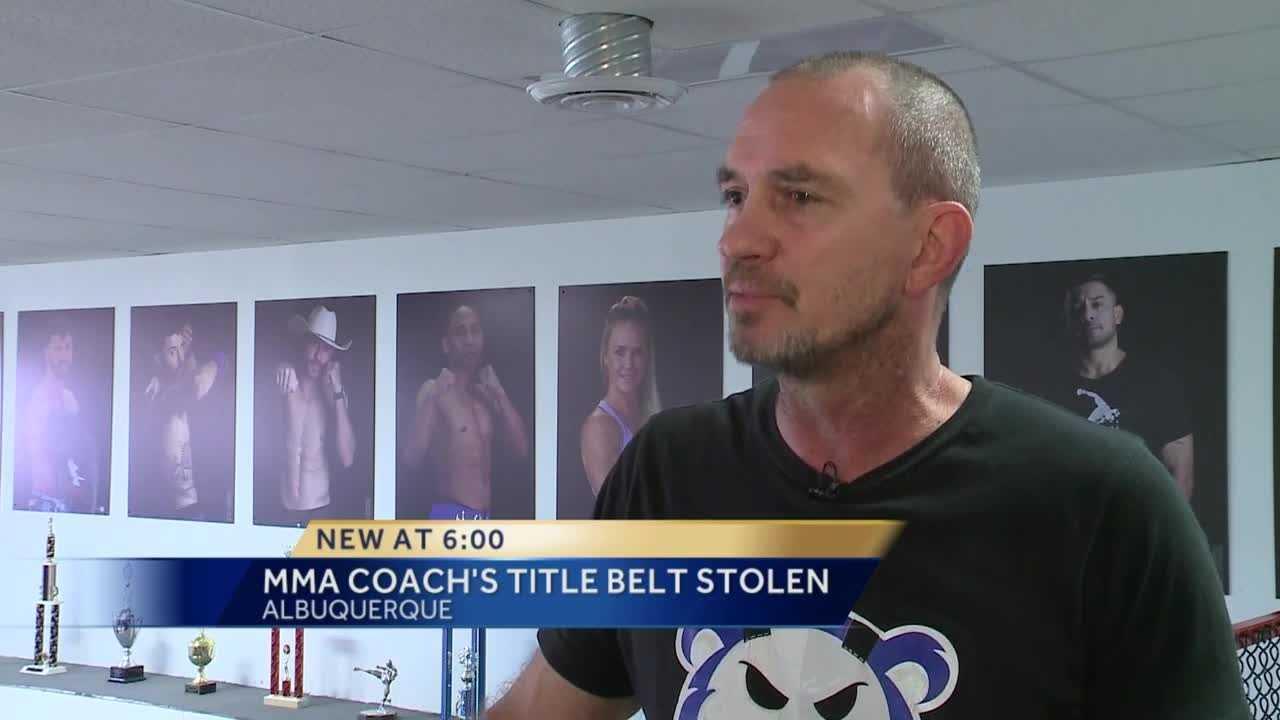 Belt stolen