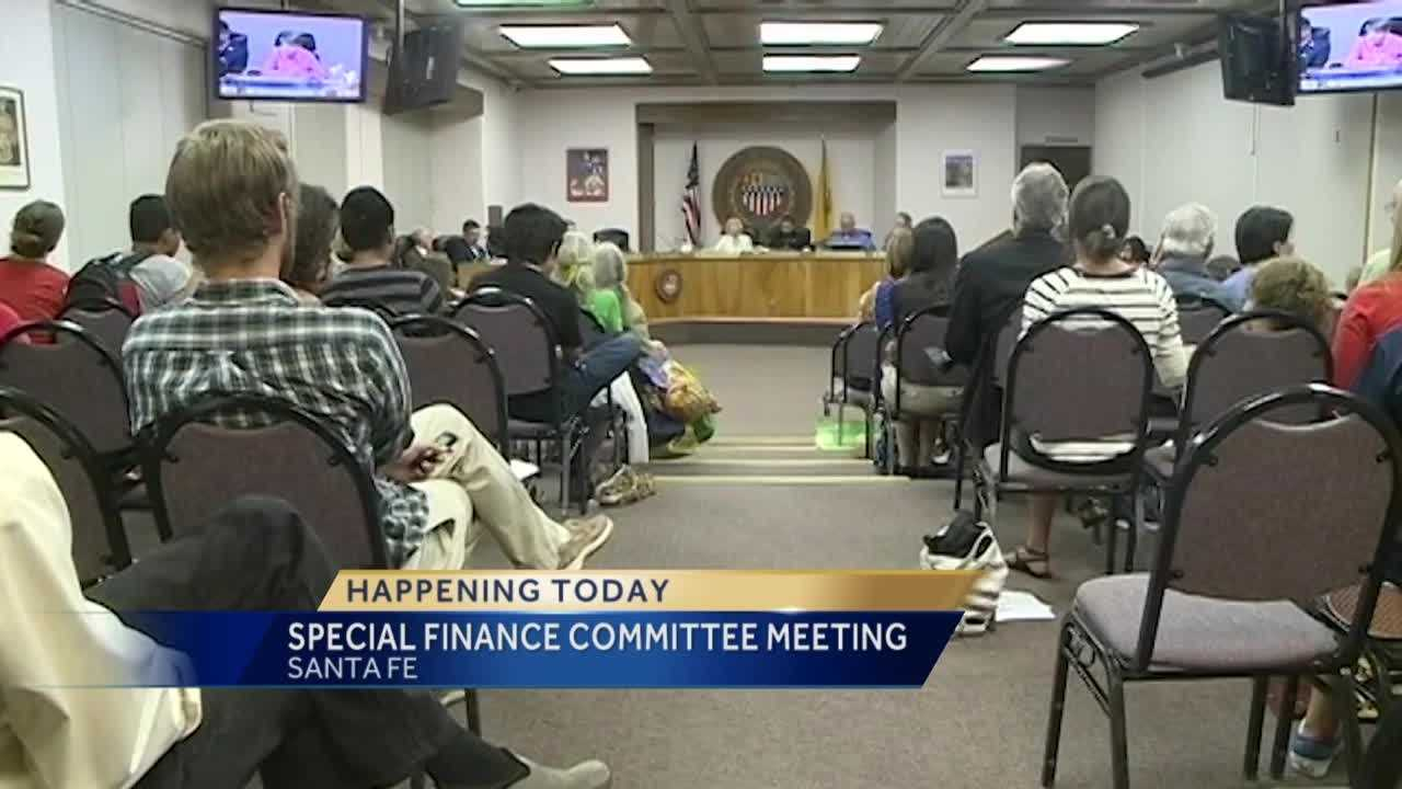 Good morning. A decision could be made this afternoon on a framework to close Santa Fe's budget gap.