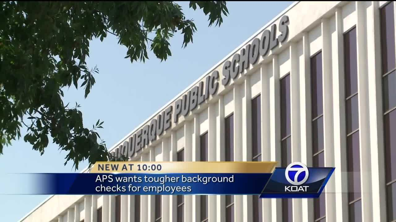 The Albuquerque Public School Board laid out rules for background checks at a meeting Tuesday, and they're as strict as the district has ever seen.