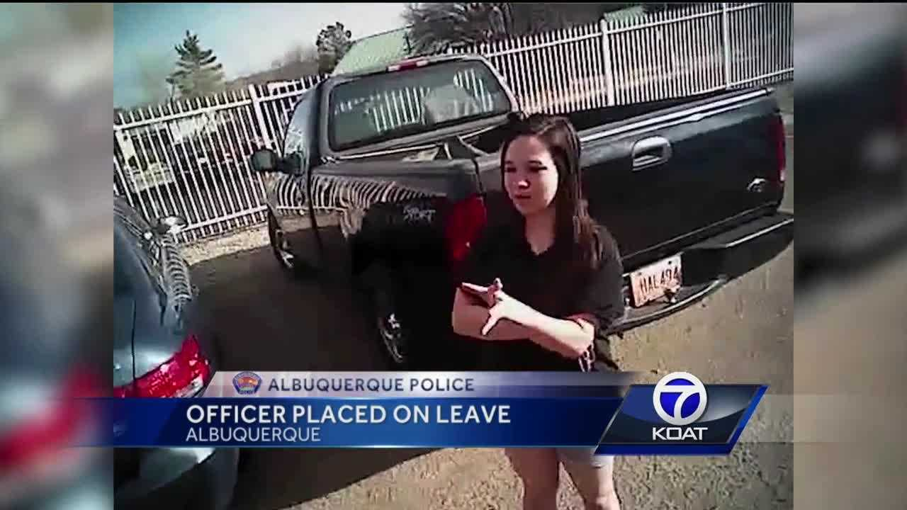 An Albuquerque police officer once suspended for sending inappropriate texts to a pregnant teenager is being investigated in another matter by the Civilian Police Oversight Agency.