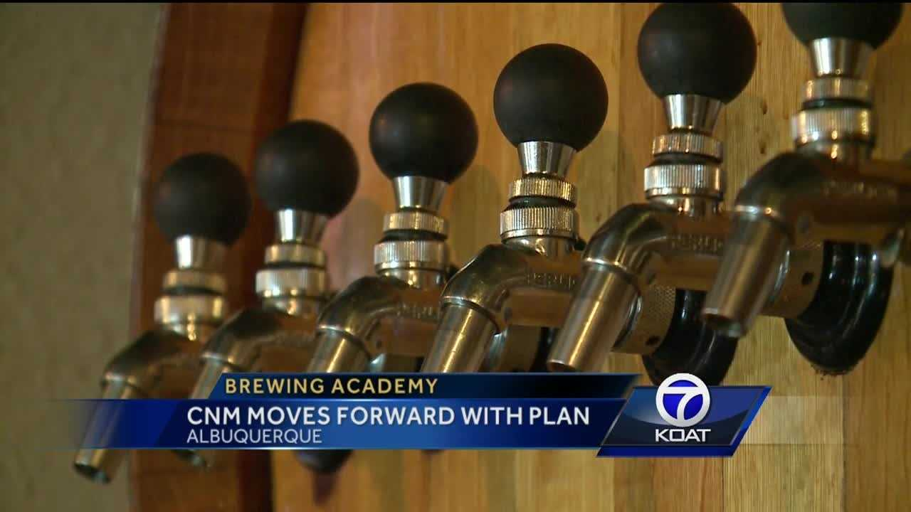 An Albuquerque school is moving forward with plans for a beer brewing academy.