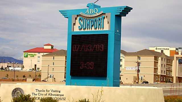 Albuquerque Sunport entrance