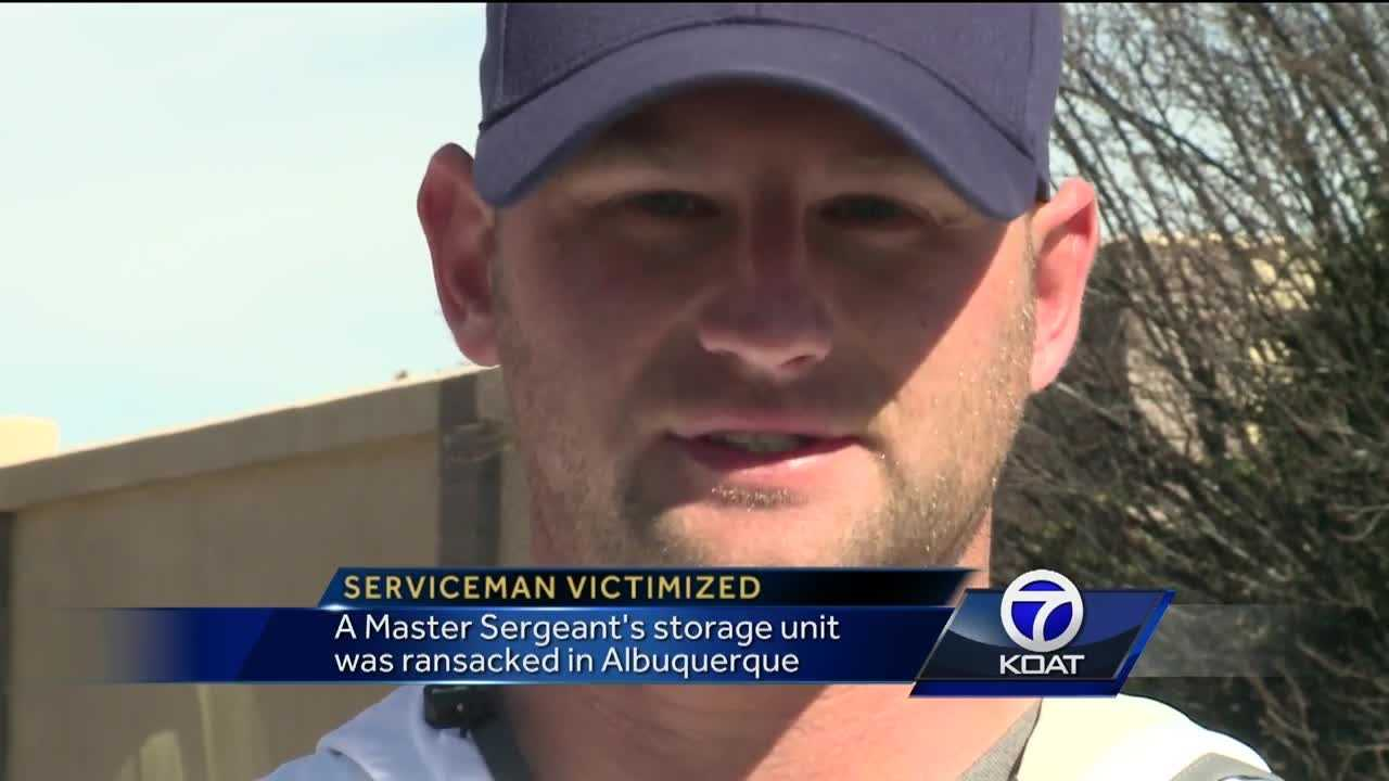 Serviceman Victimized