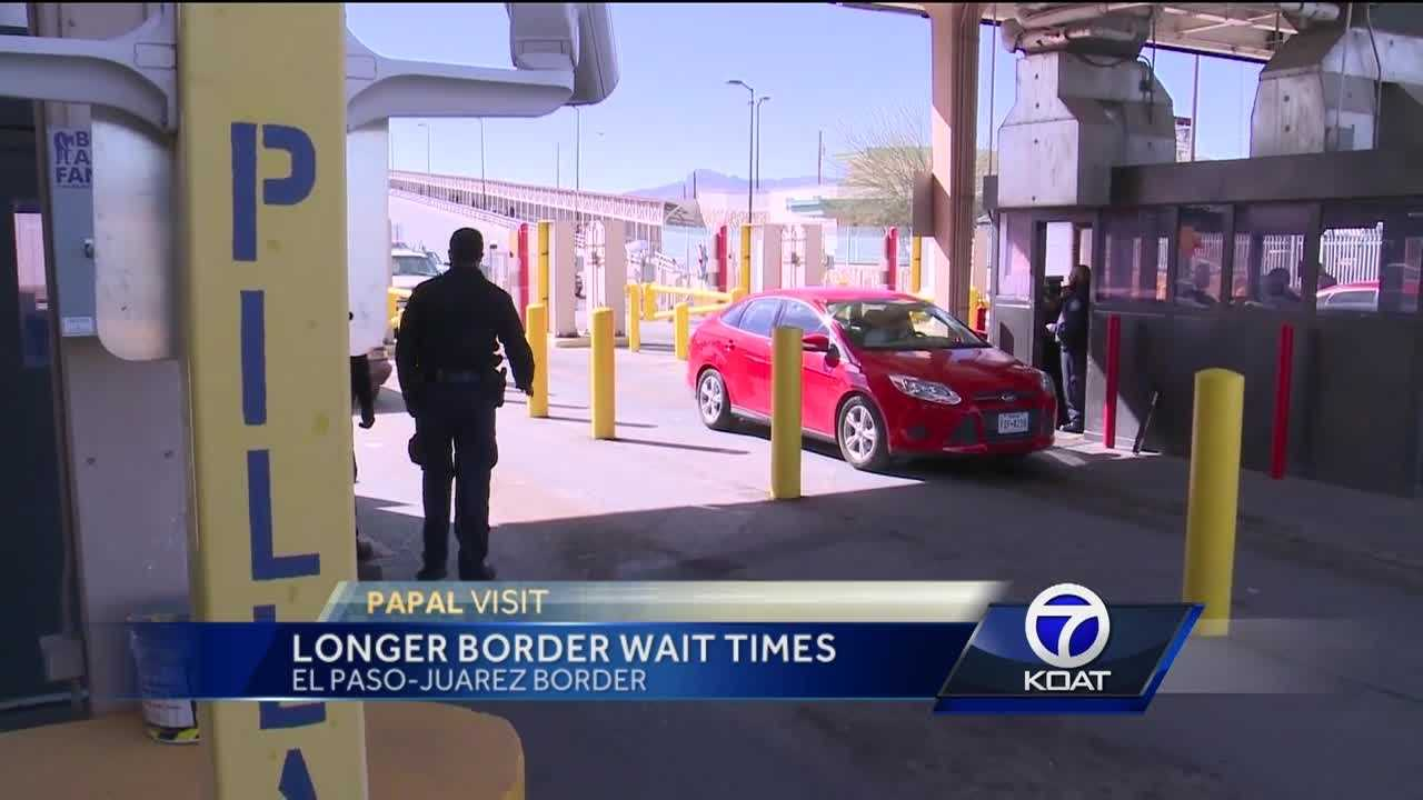 Border Times For Pope Visit To Mexico