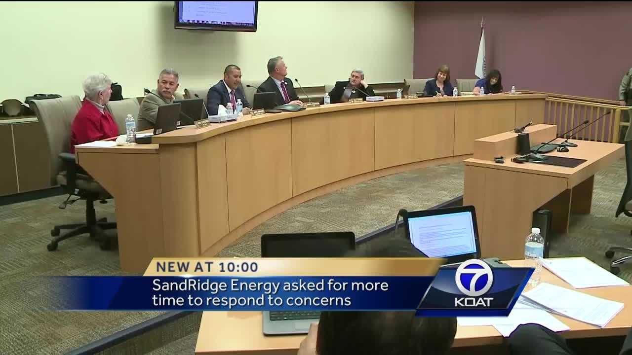Sandoval County Drilling Decision