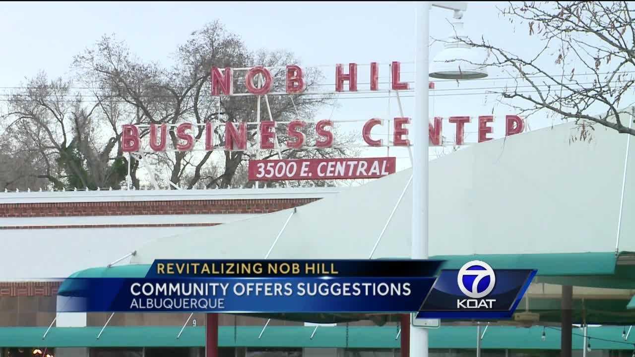 Nob Hill businesses