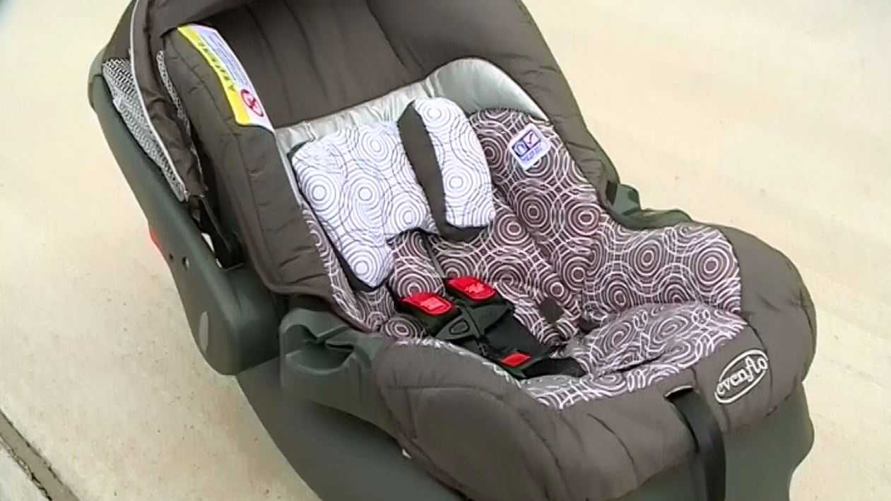 Following a scary car crash on the interstate Monday, there is a renewed push for parents to check their child's safety seats.