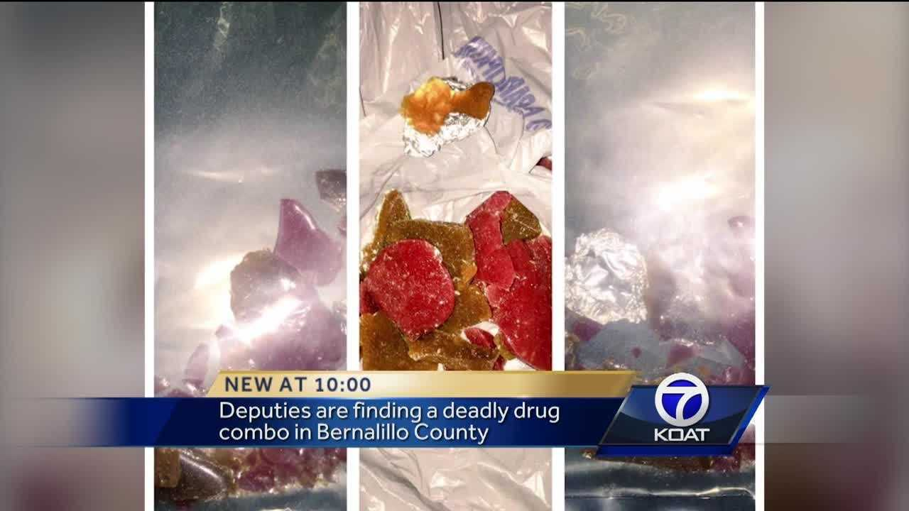 The Bernalillo County Sheriff's Office said it's find a strong, new drug that looks exactly like candy.