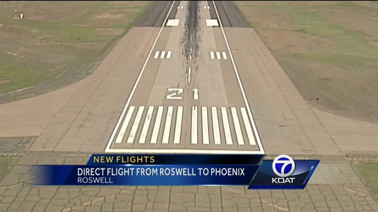 Direct Flights from Roswell to Pheonix