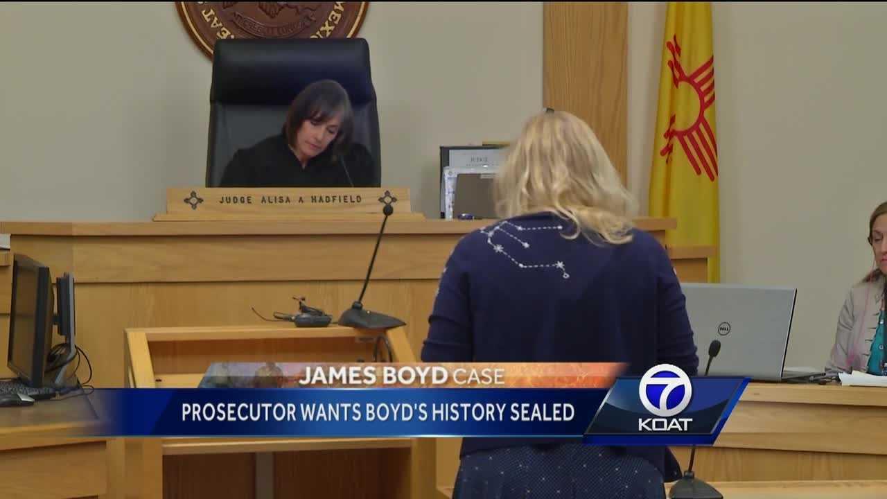 Prosecutor wants Boyd's history sealed
