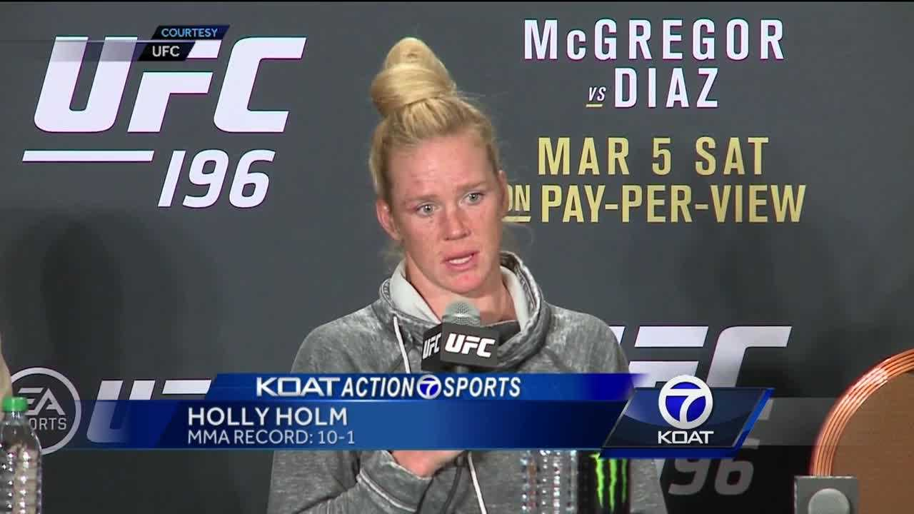 Holly Holm: 'I let her get way too tight'