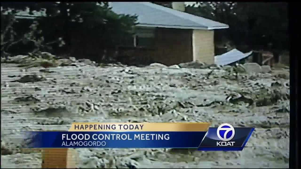 2006 brought heavy rain to Alamogordo. So much so, the city was declared a disaster area