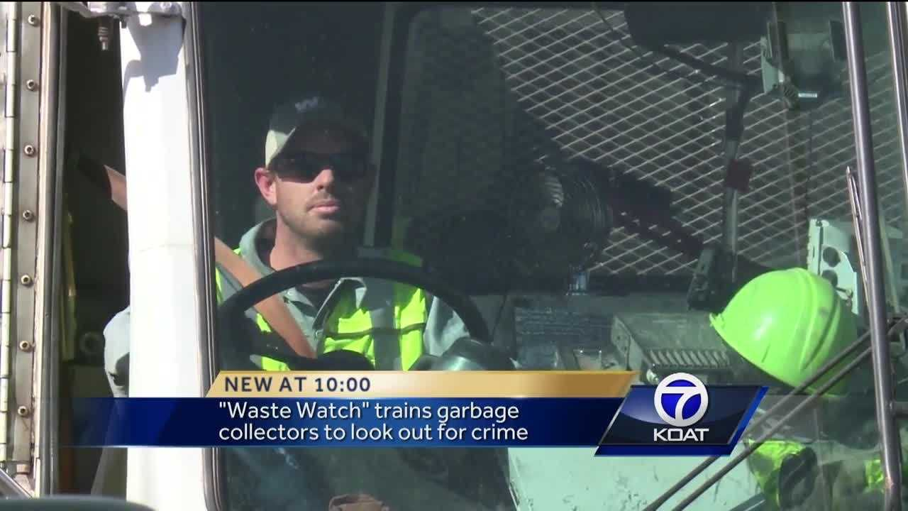 There's a new crime-fighting initiative in northwest New Mexico called Waste Watch.