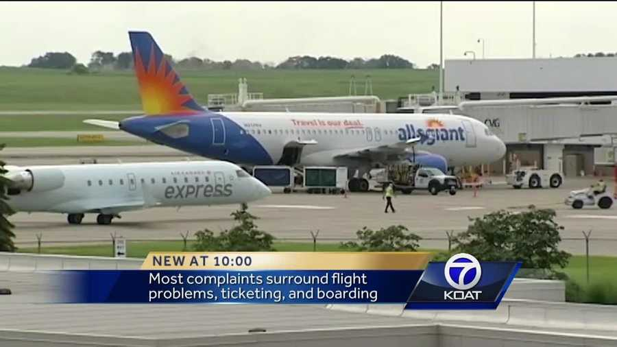 Hundreds Of Complaints Filed Against Allegiant Air Last Year