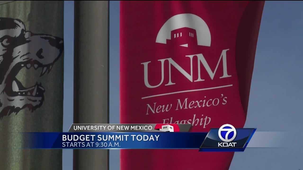 UNM Budget Summit Today
