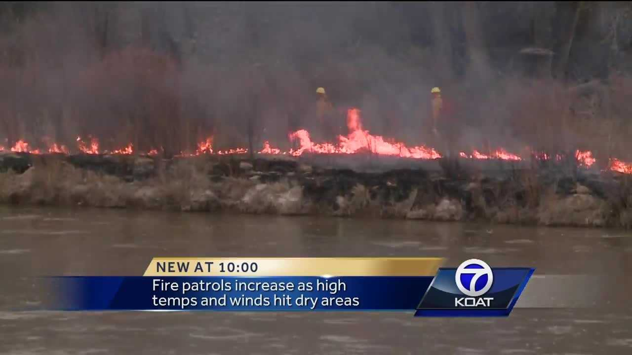 Officials: Record rains contributing to fire dangers