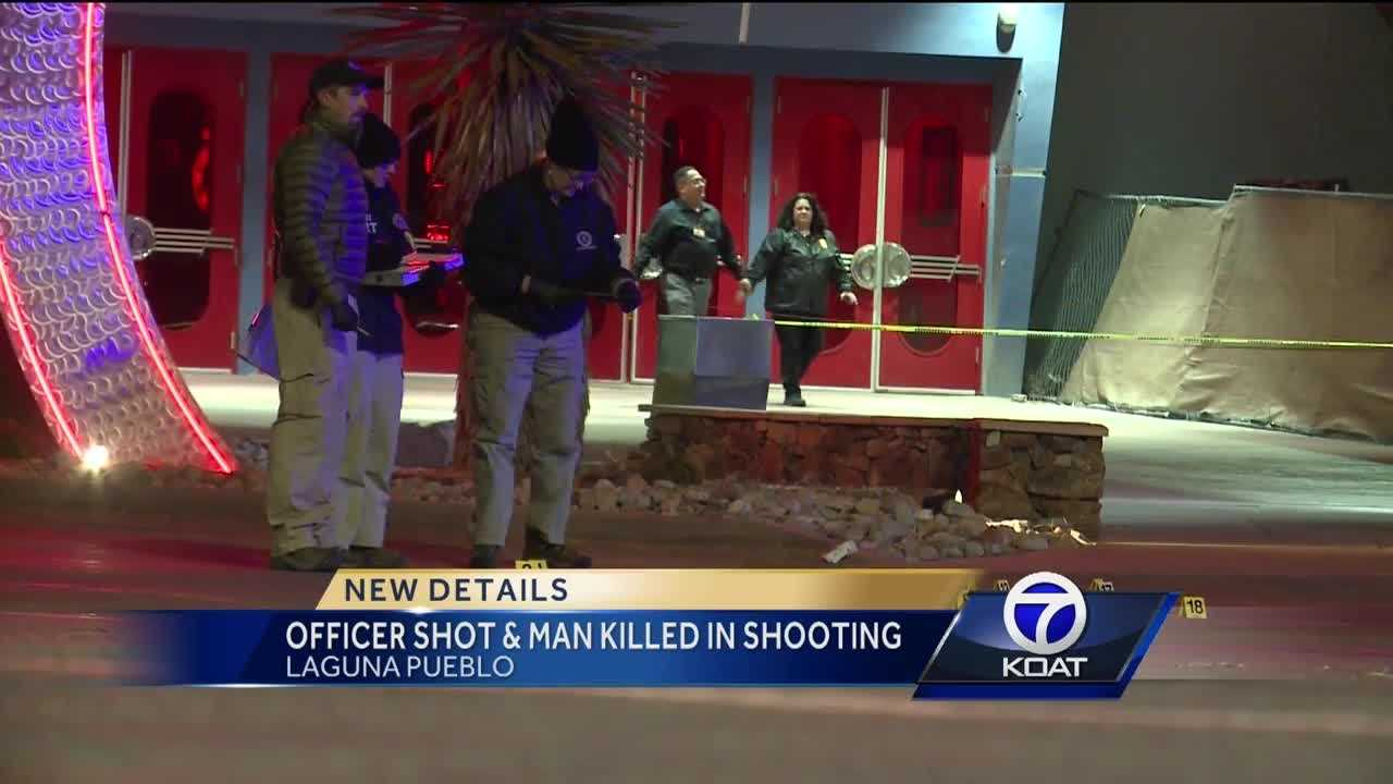 Officer Shot and Man Killed in Shooting