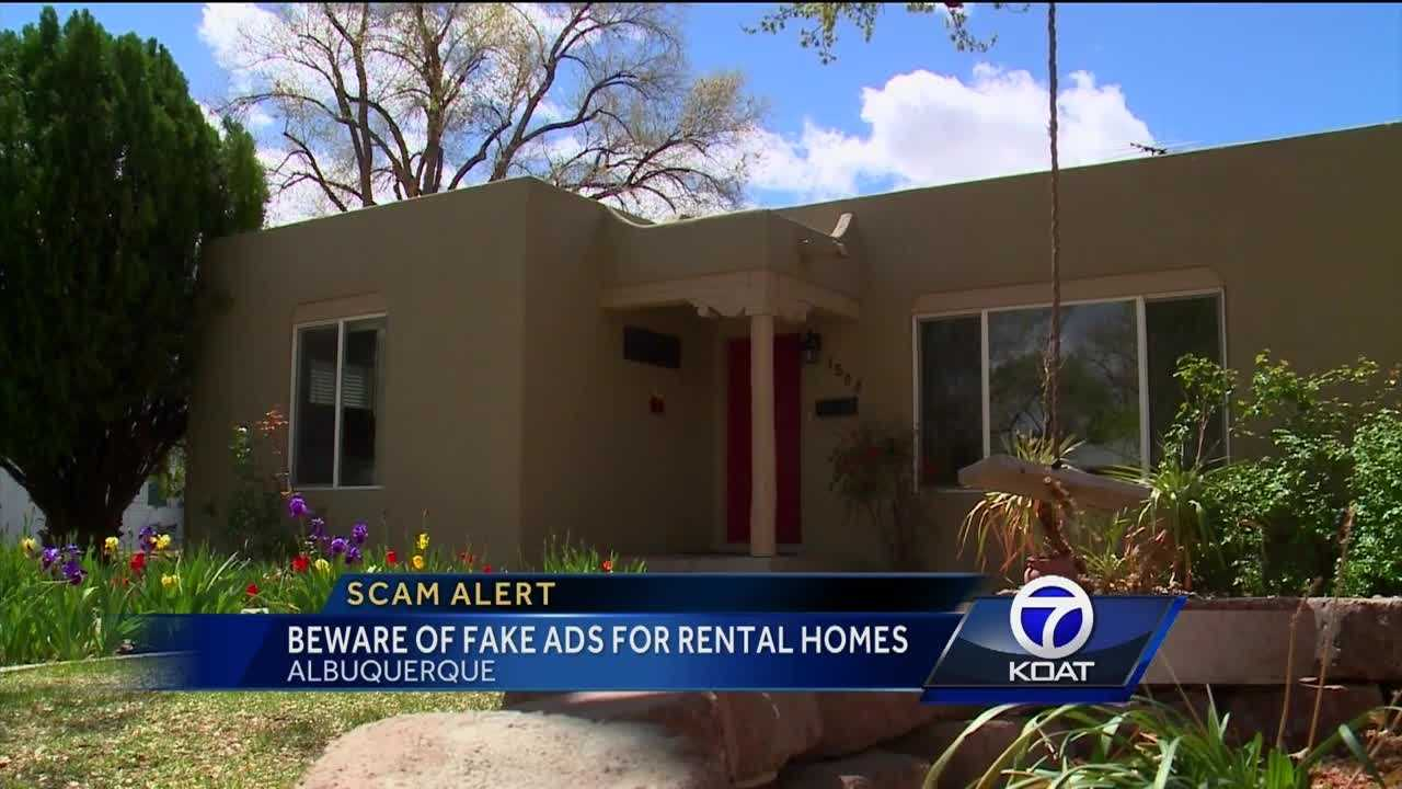 Scam artists could be targeting you, if you're looking for a new home.