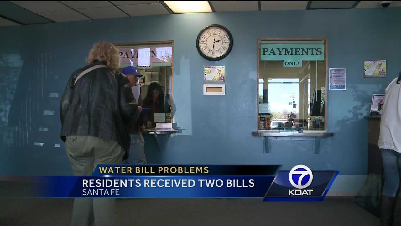 Residents received two bills.
