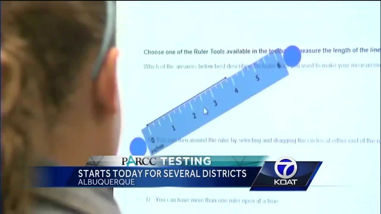 Parcc exams start this morning for several students in new mexico, including albuquerque and rio rancho.