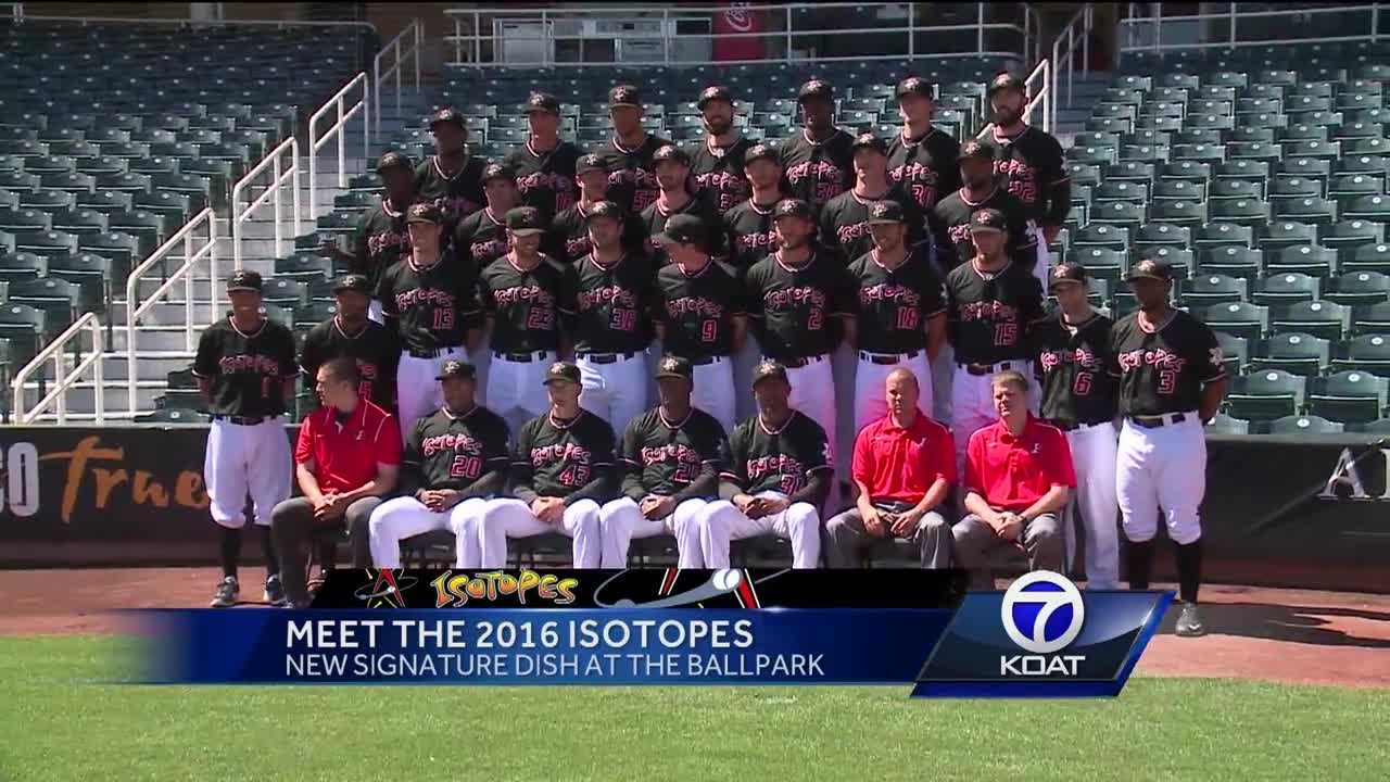 Baseball is back and the Albuquerque Isotopes are just a few days away from the first pitch.