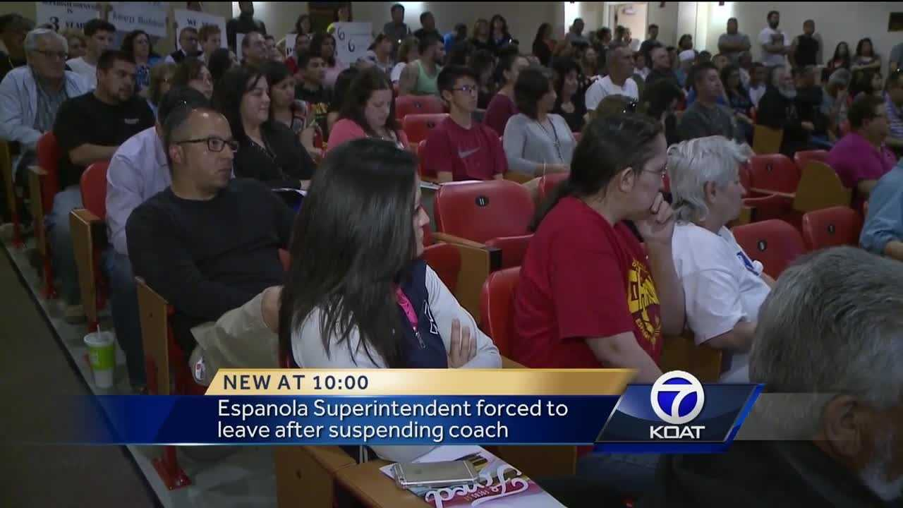 Espanola Superintendent Forced To Leave After Suspending Coach