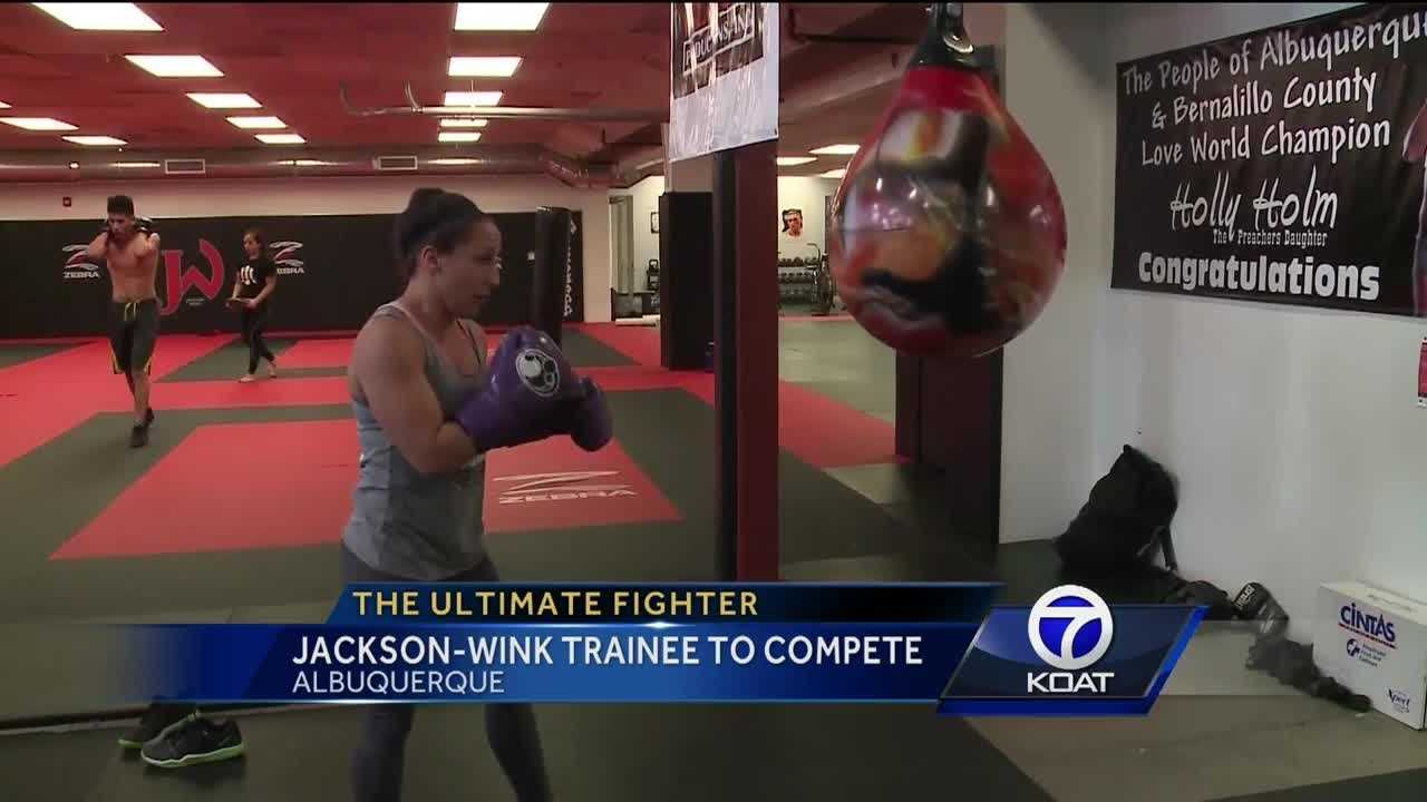 Jodie Esquibel is Jackson-Wink's trainee getting ready to compete on The Ultimate Fighter.
