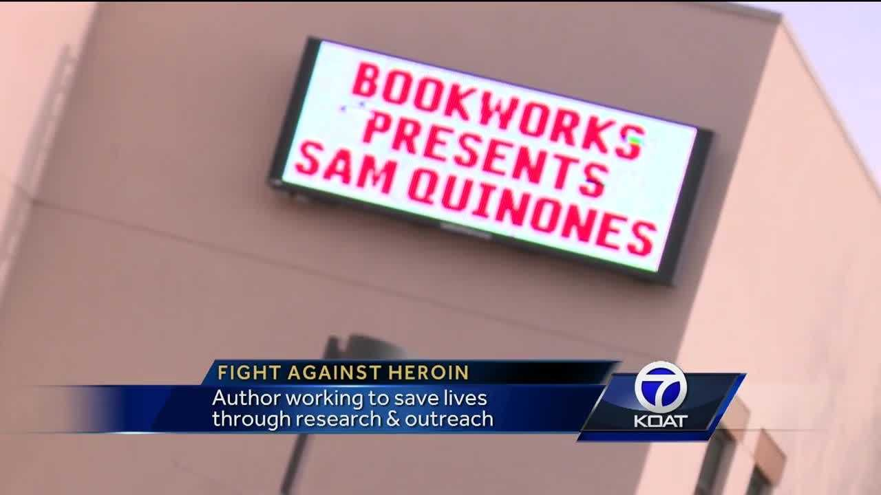An author working to save lives through research & outreach is coming to Albuquerque on Monday.