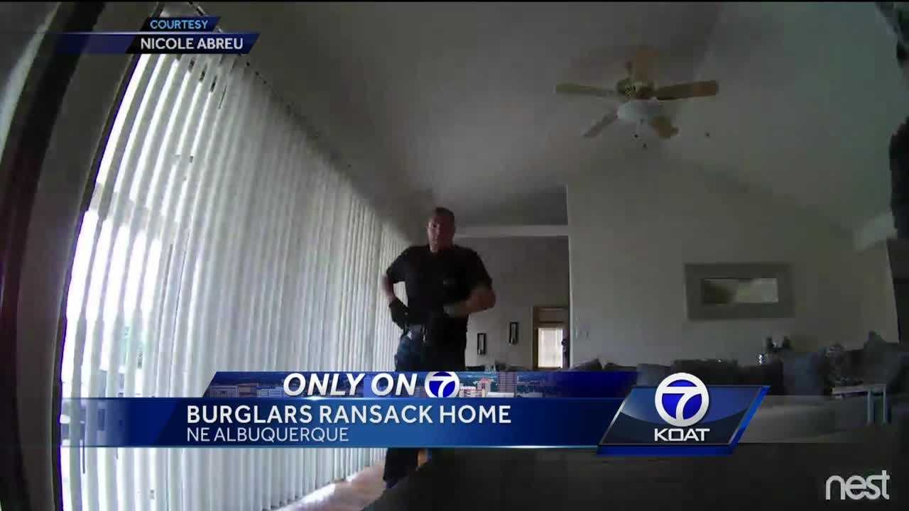 Burglars ransacked a home after claiming to be APD.