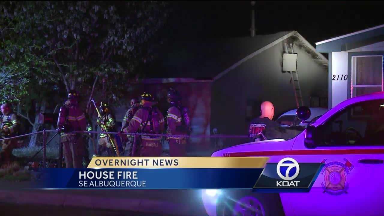 Overnight House Fire