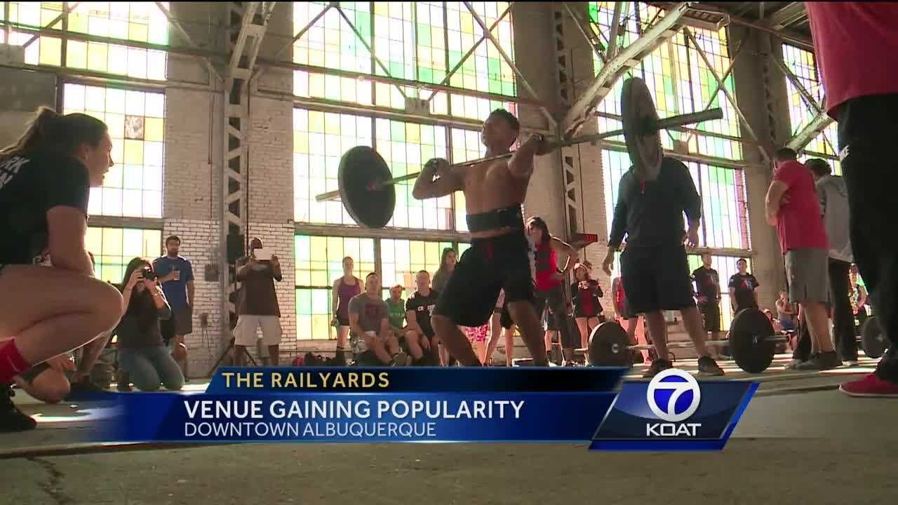 Hundreds of fitness competitors filled the historic building as the first ever Railyard Games was held this weekend.