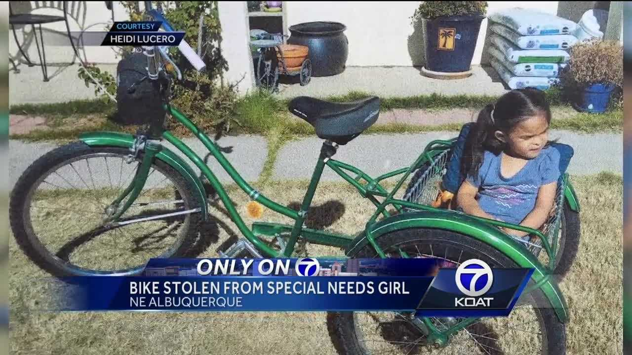 What seems like a basic bike theft hits the family of a special needs student hard.